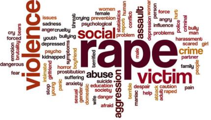 Rape montage picture